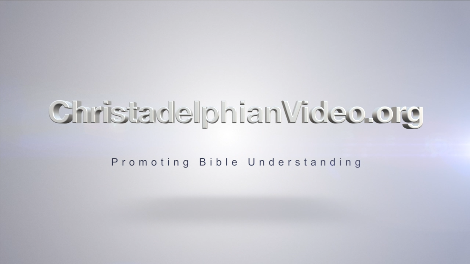 One Man should die for the people 6 part series Bible Study Boxset New Video Release