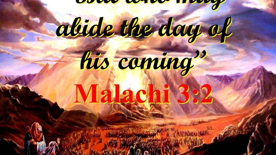 04 150801 Who Will Abide the Day of His Coming John Martin