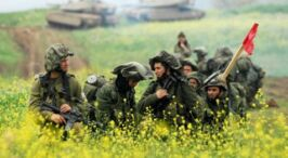 IDF Attacks Syrian Military Targets! Artillery units responded to the second straight day of fire on the northern Golan Heights.