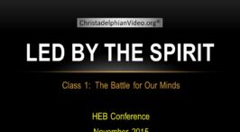 Led By The Spirit: 5 Pt Video Study Series