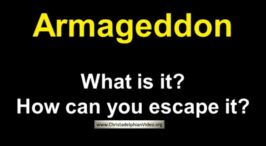 Armageddon: What is it and How Can You Escape It?