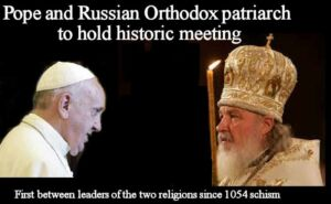 Pope Francis and Russian Orthodox patriarch to hold historic meeting