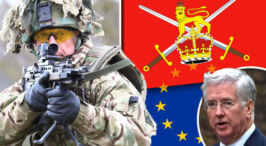 Is an EU army REALLY happening? Now Michael Fallon calls for MERGE with British forces