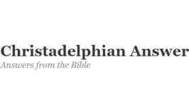 """Can """"Special Creation"""" and TE/EC be taught from the same platform? -.Christadelphian Answers"""