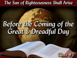 The Sun of Righteousness Shall ARISE: 5 Part Video Series