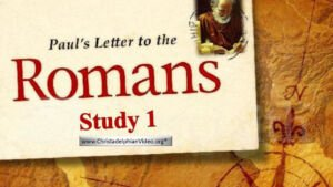 Paul's Letter To The Romans Study -Neville Clark - Video Bible Study