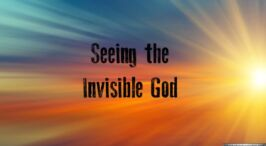 The Visible Hand of God In Creation Truth New Video Release