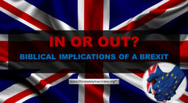 The Brexit : God's Plan For the Endtimes - Video post