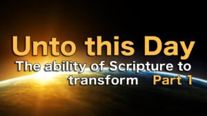 'Unto This Day' 6 Videos Seminar Series