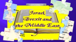 Israel, Brexit and the Middle East - Update July 2016 Lismore Video post
