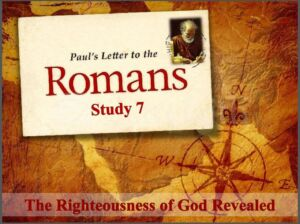 Paul's Letter To The Romans Study 8 'The purpose of the Law'