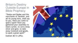 Britain's Destiny Outside Europe in Bible Prophecy Video Post