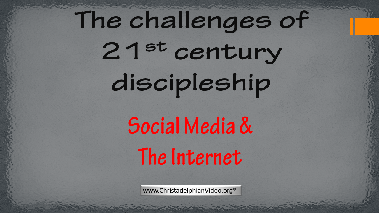 Challenges of 21 Century Discipleship - 3 pt Bible Study Series