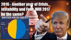 2016 - Another year of Crisis, Instability and Fear: Will 2017 be the same? Video post