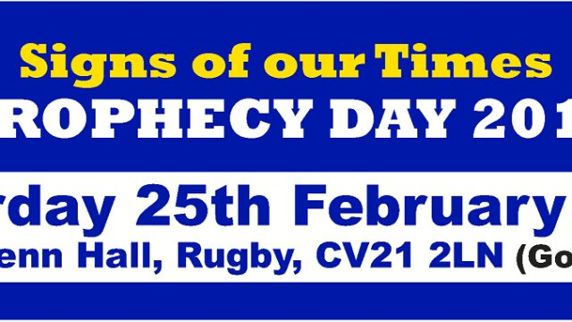 Rugby Bible Prophecy Day 2017 Study Series