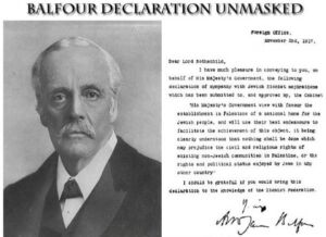 "The Year 2017 Or ""The year of Commemorations"" 1917 The Balfour Declaration"