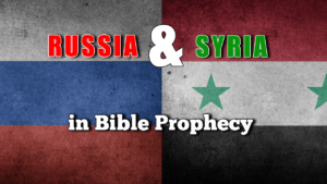Russia & Syria in Bible Prophecy - Don Pearce Video post Rugby