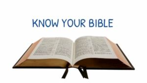 Videos: Know Your Bible: Short motivational videos to help you think!