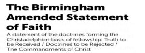 Biblical Doctrines 'REJECTED' By The CHRISTADELPHIAN Community - Pt 28