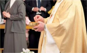 Latest News & PROPHECY: German bishop claims Catholic Church could start giving Communion to some Protestants imminently