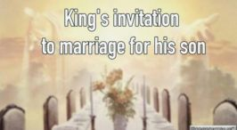 King's invitation to marriage for his son Video Post Granite State