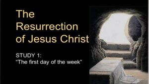The Resurrection:  Thou Wilt Not Leave My Should In Hell Study 4