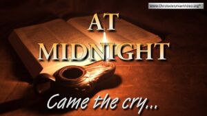 At Midnight Came the Cry! Video post