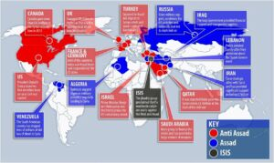 Latest News & PROPHECY: Are these the battle lines for WORLD WAR III?