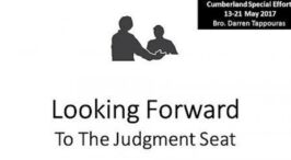 Looking Forward to the Judgement Seat: 7 Part Video Bible Study