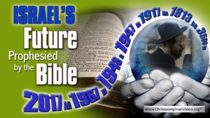 Israel's Future as prophesied by the Bible Robbie Posie Video post