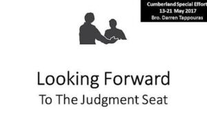 Looking Forward to the Judgement Seat Study Series: Part  - Video post