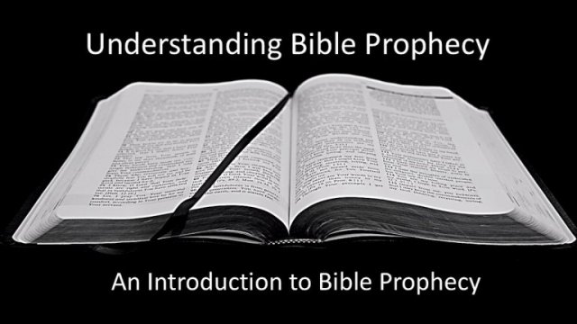 Understanding Bible Prophecy Part 1: 'God's Master Plan' Video post