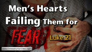 Men's Hearts Failing Them For Fear Video Post