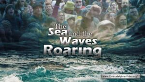 PEOPLE POWER!  'The Sea and the Waves Roaring'