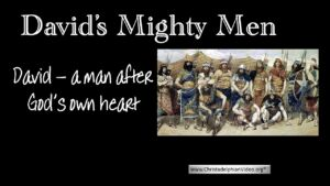 David: A Man After God's own Heart Part 3 'David's Mighty Men' - Video Post Rugby Family Day 2017