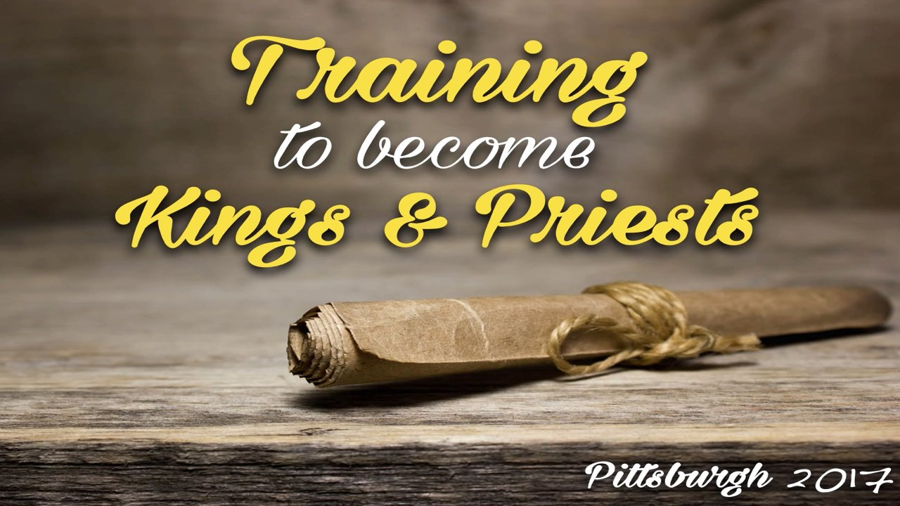 Training to become Kings and Priests for the coming age - Bible Study Series
