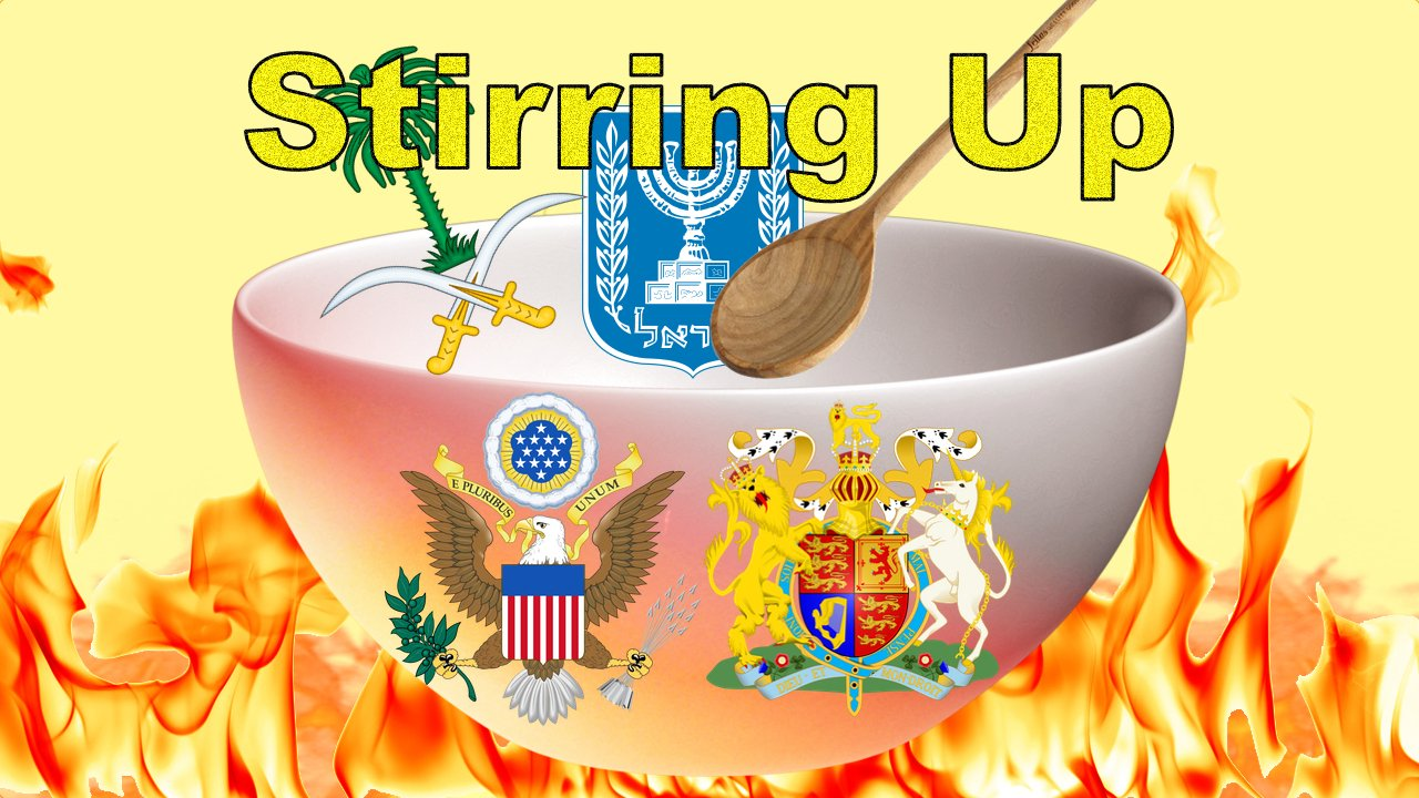 Stirring up the King of the South: Bible in the News mp4 Video Post