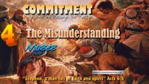 Stephen: The Man The Message: Part 4 'The Misunderstanding' - Video Post