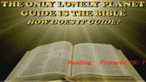 The Only Lonely Planet Guide is the Bible Video Post