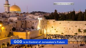 God is in control of Jerusalem, not Jews, Muslims, Christians or Armenians Video Post