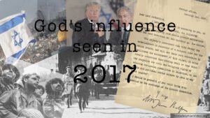 God's influence seen in 2017. Year End Review Video Post