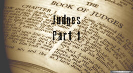 Lessons From Judges -3 Part Video Bible Study Series