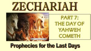 Zechariah Prophecies for the last Days Study 7