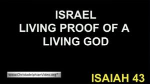 The Witness of Israel: Living Proof of a Living God - Video Post