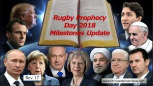 Rugby Bible Prophecy Day 2018 ' Behold I come as a thief' Video Study Series