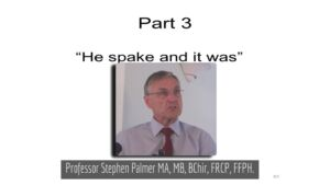The Great Creation Vs Evolution Debate: 4 x In depth Studies Pt 3 'He Spake and it was'