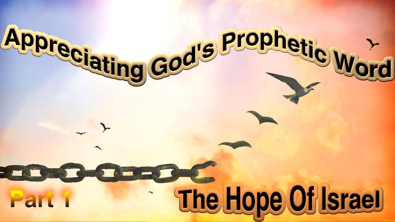 Appreciating God's Prophetic Word: 6 Part series Aimed at Young People Bible Study Series