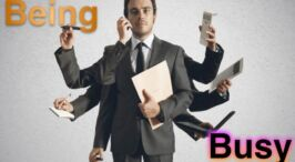 Being Busy! By Glad Tidings Magazine