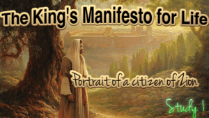 The King's Manifesto for Life: 6 Part Video Bible Study