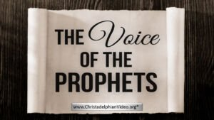 The Voice Of The Prophets - Kent Prophecy Day 2018